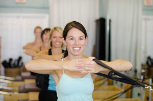 Pilates Class Centered Studio
